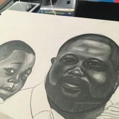 Progress photo of Family Portrait