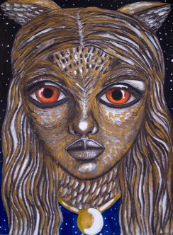 """Goddess of Intuition"" 