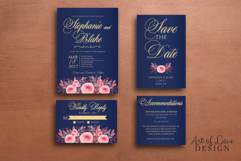 Printable Wedding Stationery Suite