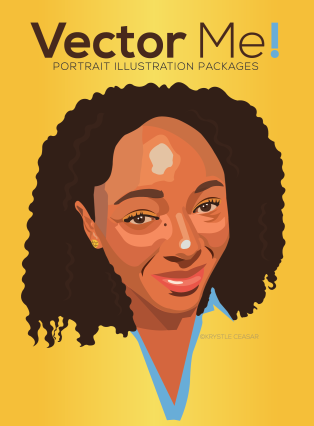 Basic ($25.00) -Head and Neck Vector Portrait in Color, 1 revision allowed, PNG and JPG files, Personal Use Only Standard ($40.00) -Head and Neck Portrait; 2 revisions allowed,Source File, Personal Use Only Premium ($60.00) Head,Neck,and Shoulder Portrait, 3 revisions allowed, Source File, Commercial Use