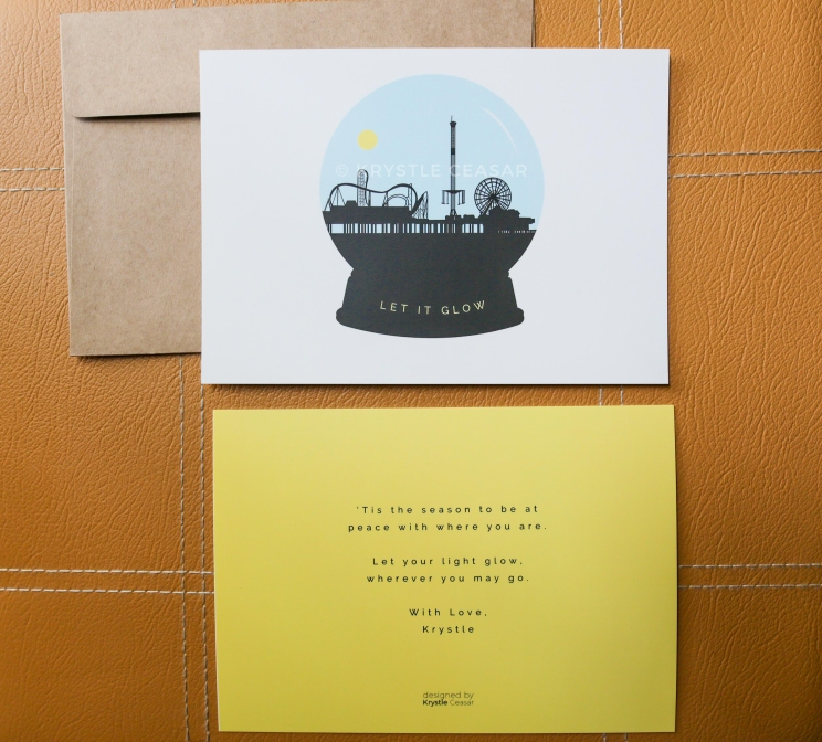 Double-Sided Holiday card